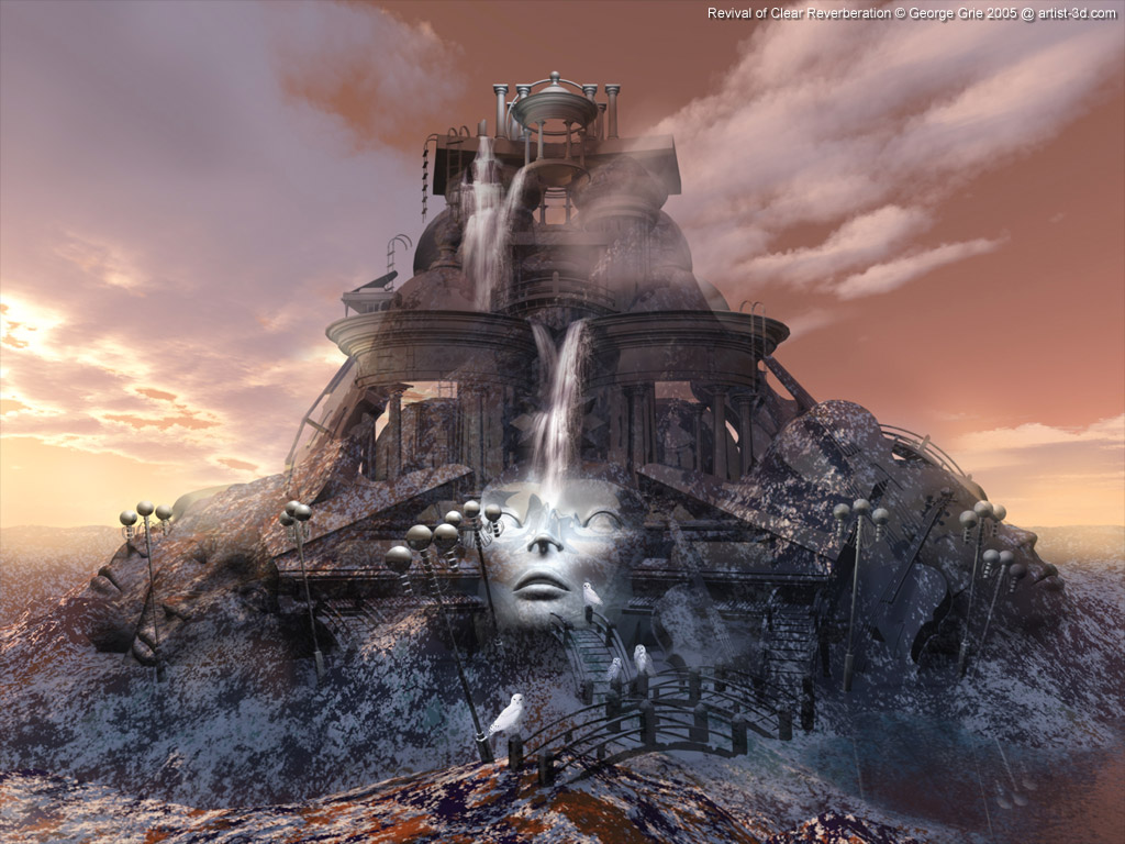 ... by 3D artist George Grie: Digital art screensavers free 3D wallpaper