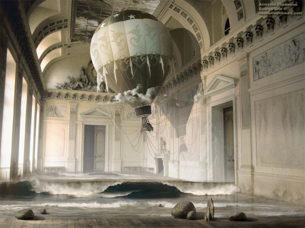 Surreal fantasy art 3d wallpapers arrested expansion 3d - Surreal screensavers ...