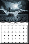 Surrealism Calendar, modern art digital artworks