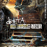 CD cover-art Drifta & The Bleeding Stones Let The Stones Bleed - Debut E.P Release, Australia, 2014 Rock music band